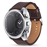 Womdee T3 Mobile Smart Watch Herzfrequenz Blutdruck Blutsauerstoff Tiefe Wasserdicht Mode Business Smart Watch Sport Watch für Frauen Herren braun