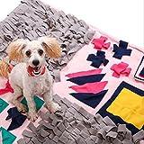 OFVV Sniffing Teppich Für Hunde Dog Riechen Training Intelligenz Spielzeug Geruch Sensation Fitness-Matte, Pet Snooping Grass