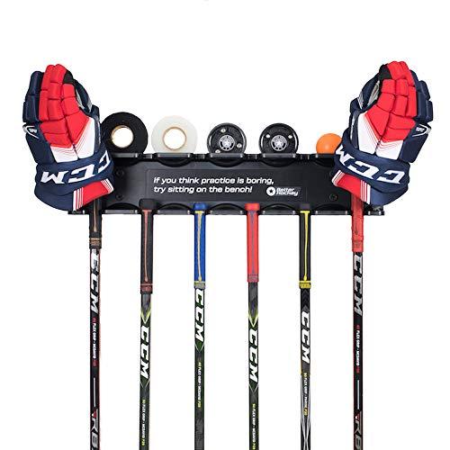 Better Hockey Extreme Stick Rack Schlägerset mit Platz für sechs Hockeyschläger -