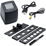 QUMOX 35mm haute résolution Portable Film & Slide Scanner. Couleur écran LCD utilisation de votre ancien Kodak, Fuji, Agfa, Konica, Ilford Couleur Négatif, Noir & Blanc et Couleur Films de diapositives