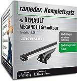 Rameder Komplettsatz, Dachträger Relingträger Kamei für Renault Megane III Grandtour (135345-08145-4)