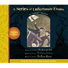 """A Series of Unfortunate Events – Lemony Snicket Gift Pack: 4–6: """"The Miserable Mill"""", """"The Austere Academy"""", """"The Ersatz Elevator"""" Nos.4-6"""