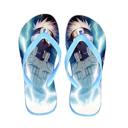 Bromeo Naruto Anime Unisex Flip Flops Zehentrenner Flip Pantoffeln 308