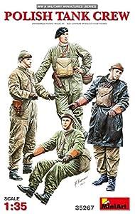 Unbekannt- Polish Tank Crew Figuras, Color Gris (MiniArt 35267)
