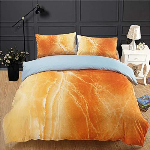 SHJIA Muster Bettwäsche-Sets Hochwertige Bettwäsche Bettbezug Bett Rock Kissenbezüge B 200x230cm