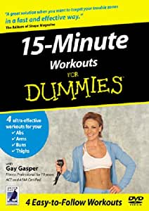 15 Minute Workouts For Dummies [DVD]