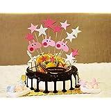 Azul Pastel de cumpleaños Decoración de Pasteles nave tema