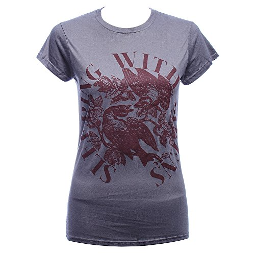 Sleeping With Sirens For The Birds Skinny T Shirt (Grau) - Small -