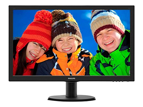 Philips 243V5LHSB Gaming Monitor 23.6' LED Full HD, 1920 x 1080, 1 ms, HDMI,...