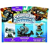Skylanders: Spyro's Adventure - Adventure Pack - Pirate Seas Adventure Pack (Wii/PS3/Xbox 360/PC) [Edizione: Regno Unito…