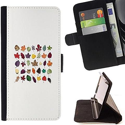 For HTC Desire 626 626w 626d 626g 626G dual sim Case , Autunno naturale Biologia Evoluzione - Portafoglio in pelle della Carta di Credito fessure PU Holster Cover in pelle case