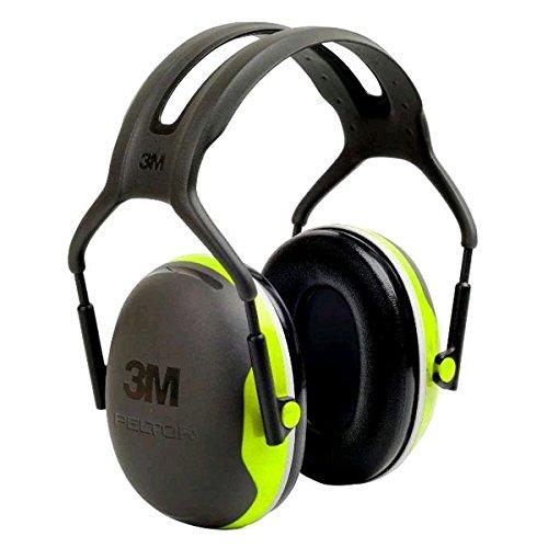 3M Cuffie Auricolari Peltor Serie X, X4A Cuffia Temporale Hi-Viz 33 dB