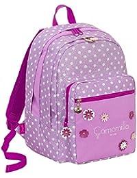 3efbbc45bc Zaino Scuola Seven Big Plus Camomilla Camomilla Flower&Dots Rosa