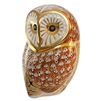 Royal Crown Derby - Paperweight - Barn Owl