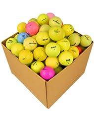Second Chance 48 Balles de golf Récupération Qualité supérieure Grade A Couleurs optiques