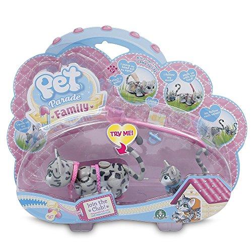 Pet Parade - Mama con su cachorro - Gatos grises