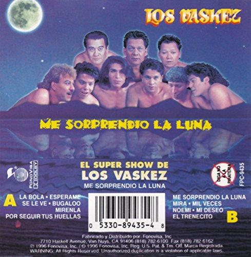 Me Sorprendio La Luna [Musikkassette] (De Vasquez Los Show Super)