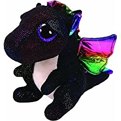 Ty Anora Peluche dragón, Color Negro (United Labels Ibérica 36897TY)