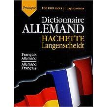 Dictionnaire pratique allemand Hachette Langenscheidt