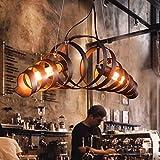 Lit. Lámparas de araña - retro hierro lámpara moderna lámpara de estilo industrial minimalista Lámpara colgante [Energieklasse A++ to E]