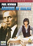 Absence of Malice [UK Import]