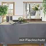 Sander Tischdecke Loft stein Größe 150x350 cm