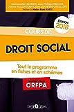 Cours de droit social - Tout le programme en 80 fiches et en schémas
