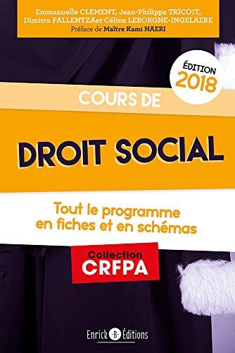 Cours de droit social par Jean-Philippe Tricoit