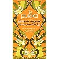 Pukka BIO Tee Zitrone, Ingwer & Manuka-Honig, 20 Beutel