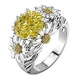 Quaan-Home Schmuck Damen Ring Silber Gold Rosegold Farbe Edelstahl mit Zirkon Strass