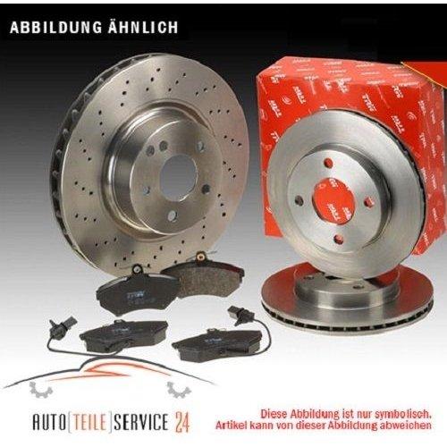 TRW gdb1741 Kit de plaquettes de frein, frein à disque