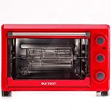 Oursson - MO2610/RD - Mini Backofen, Mini Pizza-Ofen, 26 Liter, Timer, Backofen, Pizzaofen, 1500 Watt, Rot