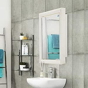 Nilkamal Gem Plastic Cabinet with Mirror (Ivory)