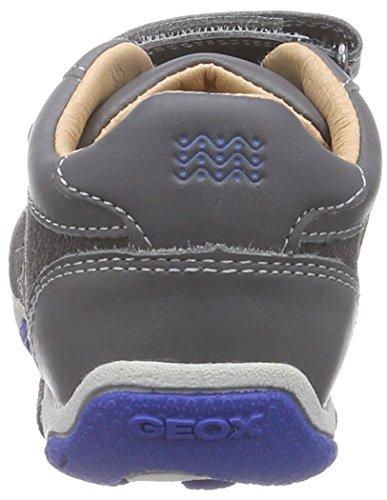 Geox Balu B C, Chaussures Premiers Pas Bébé Garçon Gris (C0071)