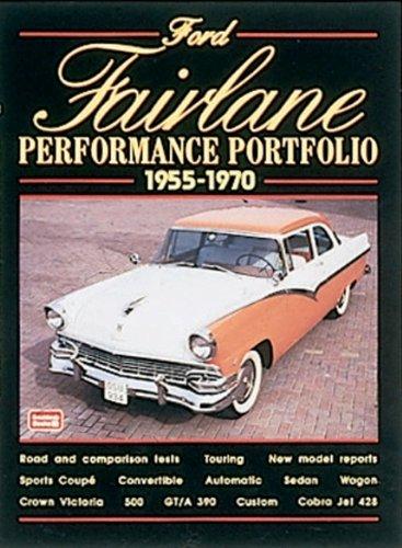 Ford Fairlane 1955-1970 Performance Portfo (Performance Portfolio)