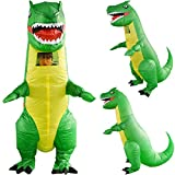 Inflatable Dinosaurio EUZeo,Inflables de Navidad Disfraz Adulto Costume | Inflatable Costumes Adults| Halloween Costume | Blow Up Costume Fiesta Cospaly |Carnaval Fancy Ropa (Dinosaurio)