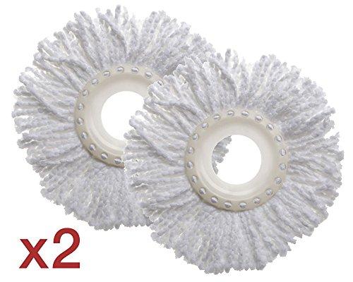 tatay-1030400-lote-ahorro-2-mopas-de-recambio-para-fregona-twister-compact-100-microfibra-color-blan