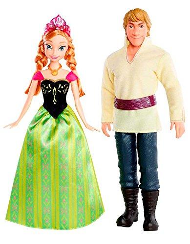 Mattel Disney Princess CMT82 - Anna und Kristoff Barbie Anna