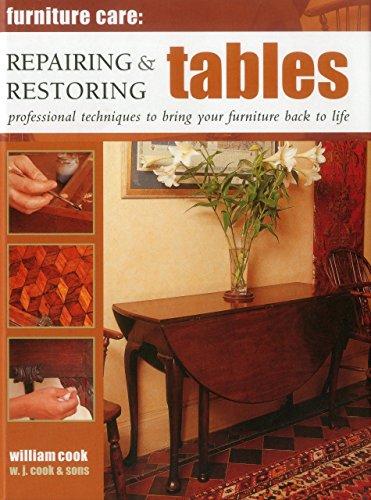 Furniture Care: Repairing & Restoring Tables