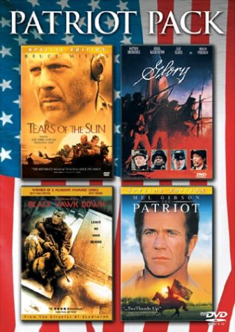 The Patriot Pack (The Patriot Special Edition / Tears Of The Sun Special Edition / Black Hawk Down / Glory) (Pack Blackhawk)