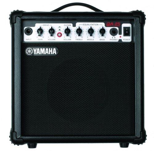 Yamaha GA 15 Gitarrenverstärker 15 Watt, Clean/Distortion, 1 Speaker