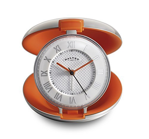 dalvey-capsule-travel-clock-with-steel-case-and-orange-interior