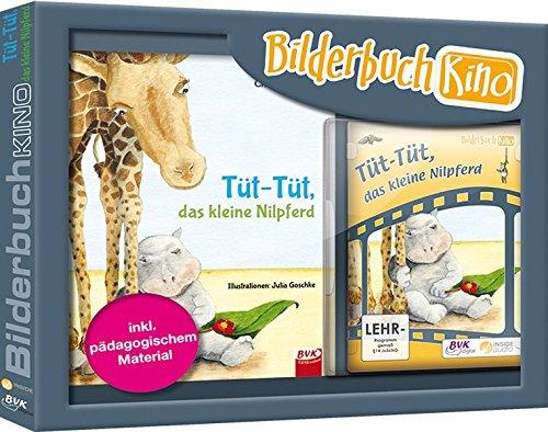 """Bilderbuchkino zu """"Tüt-Tüt, das kleine Nilpferd"""": Bilderbuch mit DVD"""