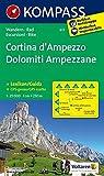 Carta escursionistica n. 617. Cortina d'Ampezzo-Dolomiti ampezzane