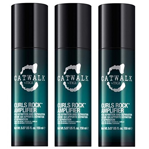 TIGI Catwalk Curlesque Curls Rock Amplifier 3 x 150ml = 450ml