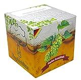 Geschenk-Anzuchtset Hopfenblüte - Männergeschenk Bier-Liebhaber - Hopfen Samen Anzuchtset - Witziges Geburtstags-Geschenk