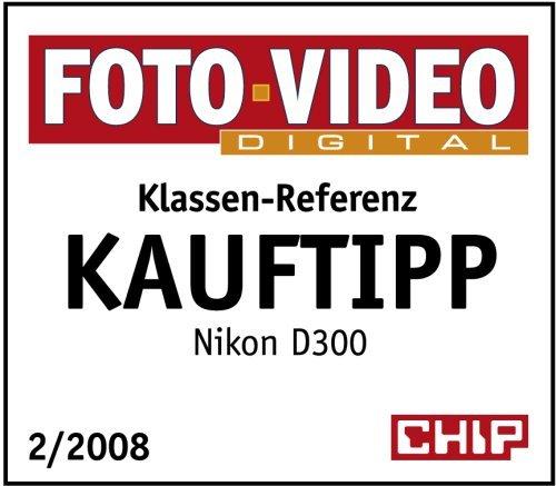 Nikon D300 SLR-Digitalkamera (12 Megapixel, LiveView) Gehäuse (Zertifiziert und Generalüberholt) - 4