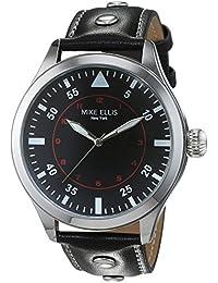 Mike Ellis New York Mujer-reloj analógico de cuarzo Desert Fox piel sintética SM4312