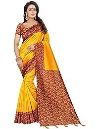 Stylla Mart Art Silk Saree For Women Latest Design Sarees New Collection 2018 Sarees Below 1000 Rupees 500 Rupees...