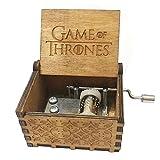 Antik geschnitzt Game of Thrones Hand Kurbeln Holz Musik Box für Home Dekoration, Handwerk, Spielzeug, Geschenk Game of Thrones a